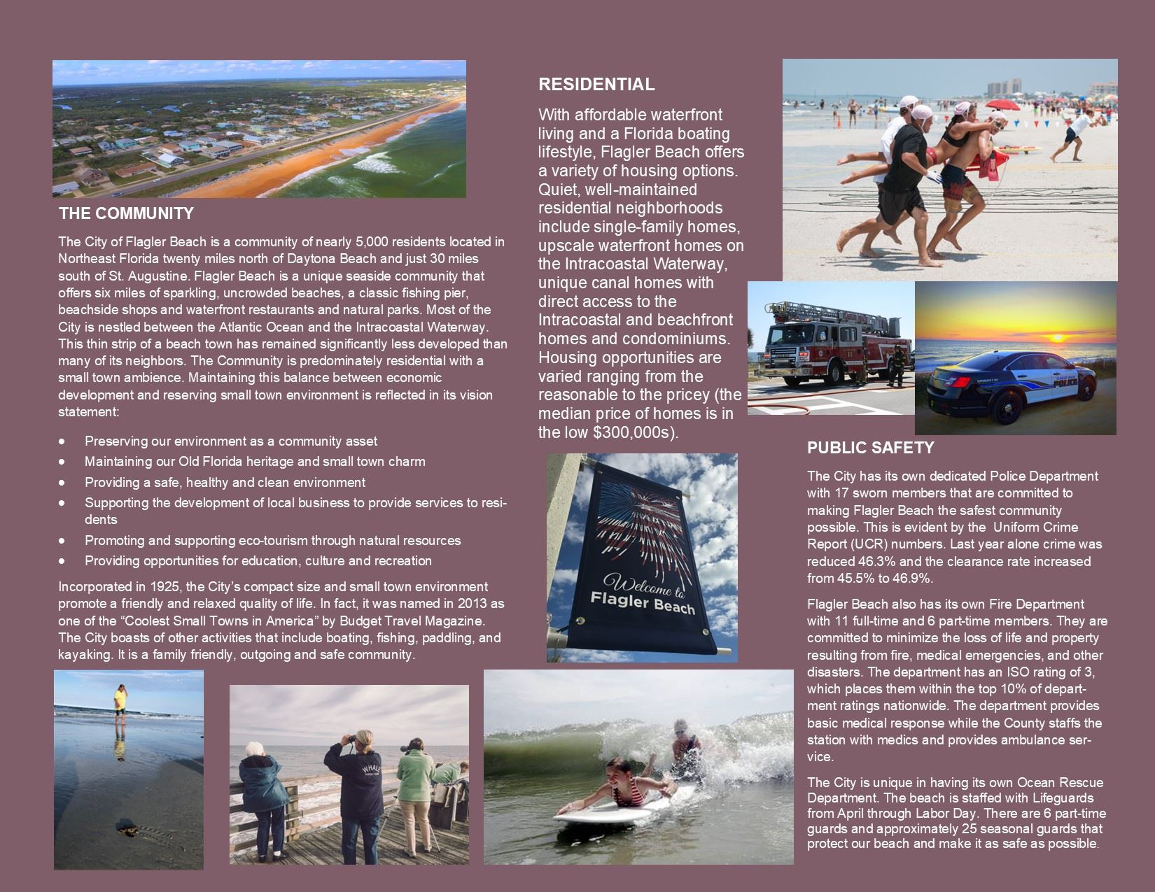 City of Flagler Beach Manager Profile Page 2