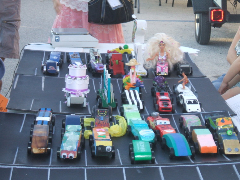 Fall Celebration - Pine Wood Derby Cars